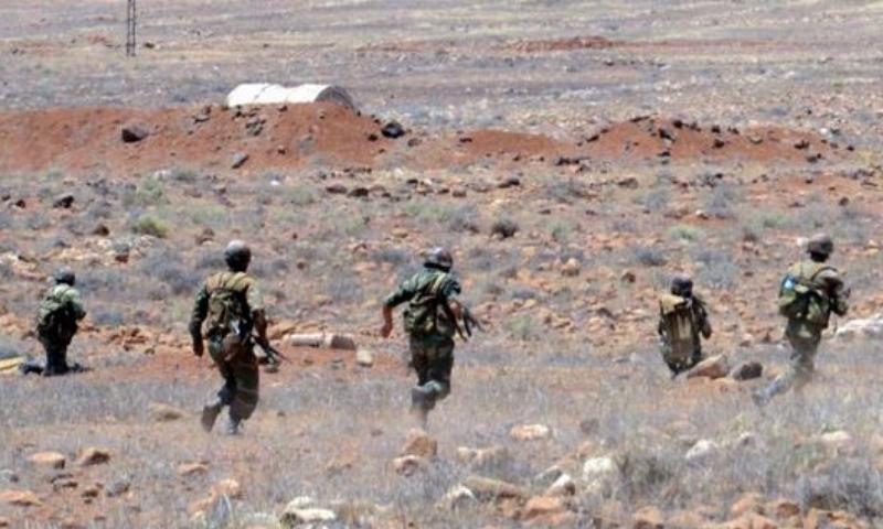 عناصر من الجيش السوري خلال إدى المعارك ضد قوات المعارضة - 10 تشرين الأول 2016 (سانا)