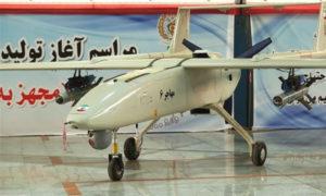 طائرة مهاجر الإيرانية (وكالة أنبا فارس)