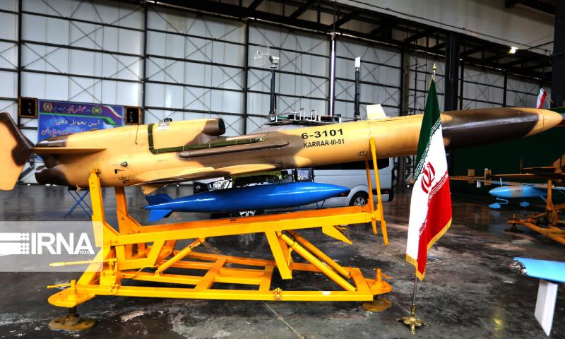طائرة كرار الإيرانية (وكالة الأنباء الإيرانية)