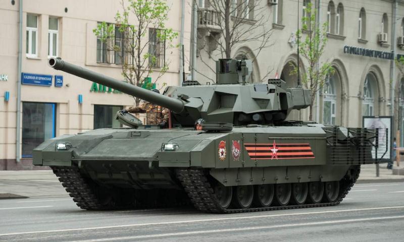 دبابة أرماتا الروسية (ناشيونال إنترست)