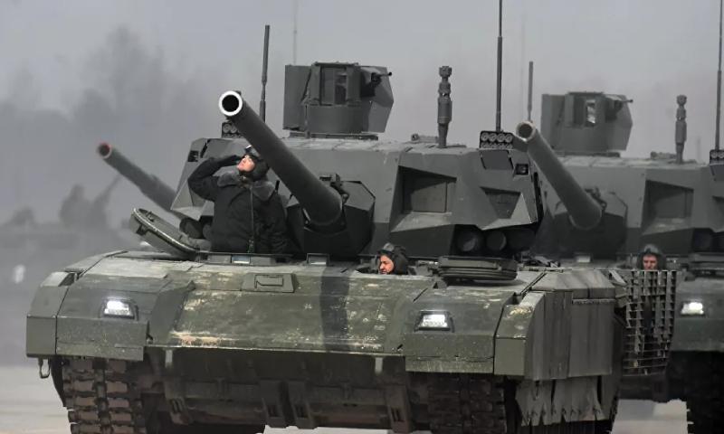 دبابة أرماتا الروسية (سبوتنيك)