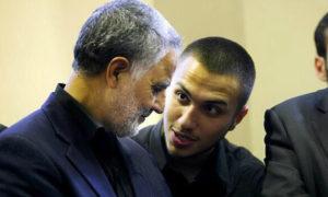قائد لواء القدس قاسم سليماني مع جهاد عماد مغنية (حزب الله)