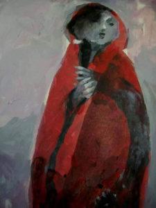 لوحة للفنان أسعد فرزات