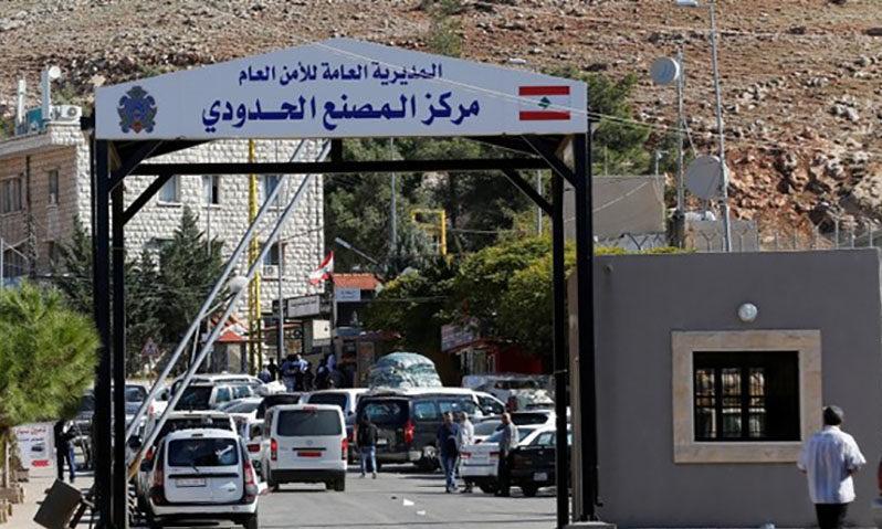 الحدود السورية اللبنانية (رويترز)