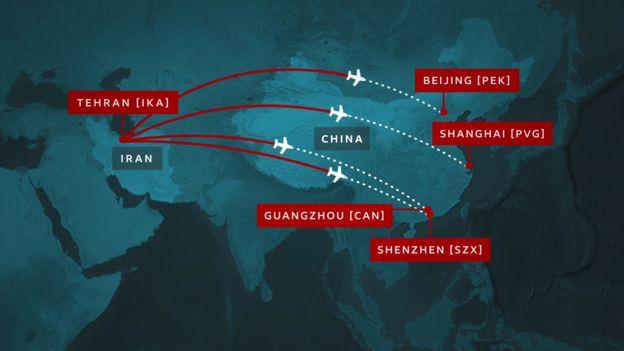 طيران نشط ذروة الوباء- (BBC)