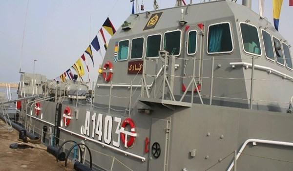 """سفينة الدعم اللوجستي الإيرانية """"كوناراك""""- 11 من أيار (إرنا)"""
