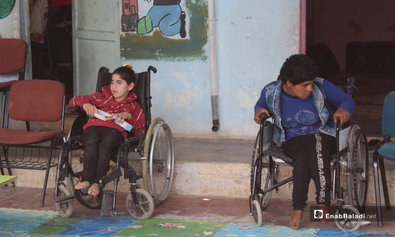 واختارت تعليم الأطفال ذوي الإعاقة لأن لديها ولدين منهم