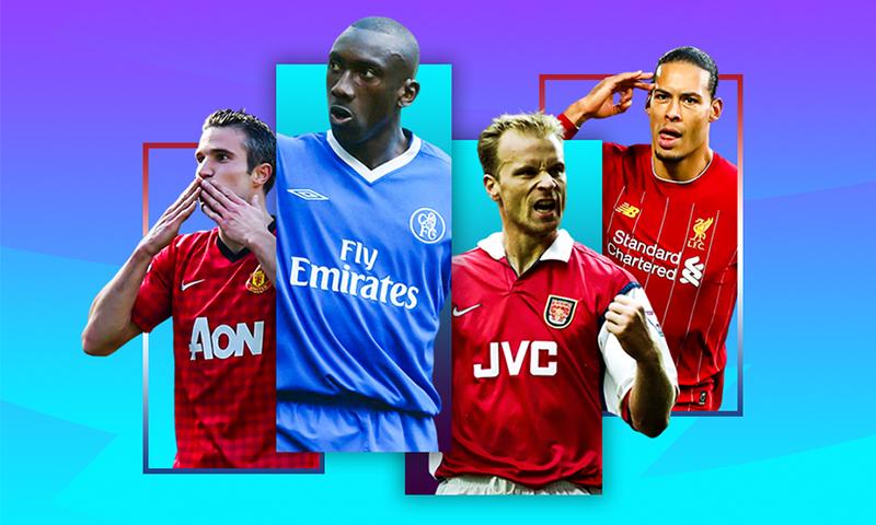 نجوم هولنديون في الدوري الإنجليزي، فان دايك، بيركامب، ، فان بيرسي- 10 من أيار (premierleague)