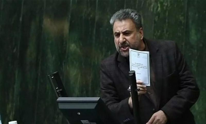 عضو البرلمان الإيراني، حشمت الله فلاحت بيشه- (إرنا)