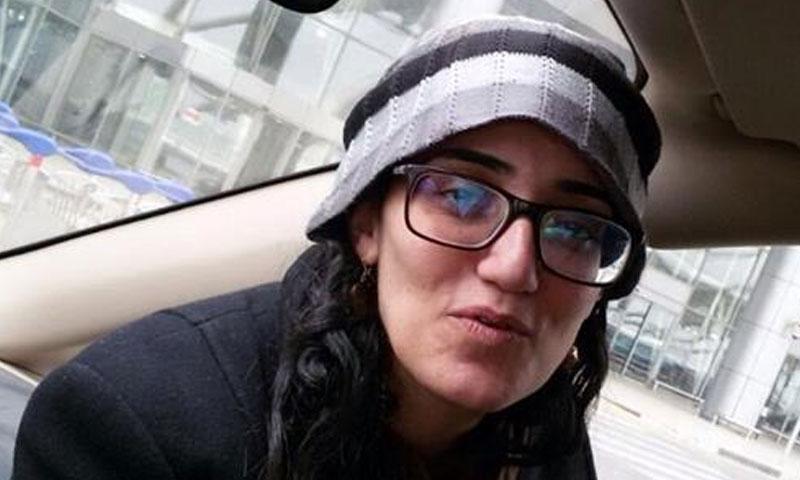 رئيسة تحرير موقع مدى مصر لينا عطالله (صفحة لينا في فيس بوك)