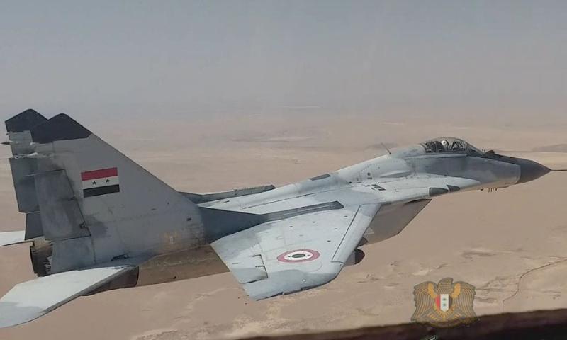 طائرة ميغ- 29 تابعة لسلاح الجو السوري (وزارة الدفاع السورية)