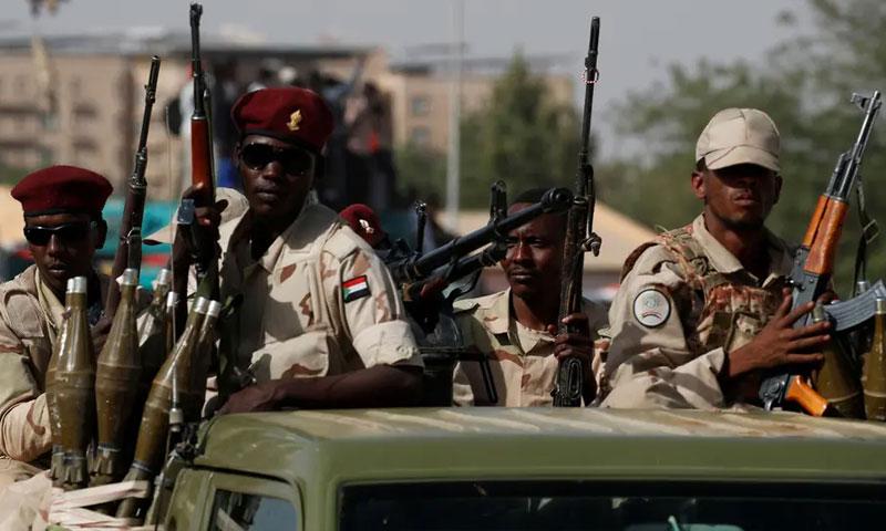 عناصر من الجيش السوداني (العربية)