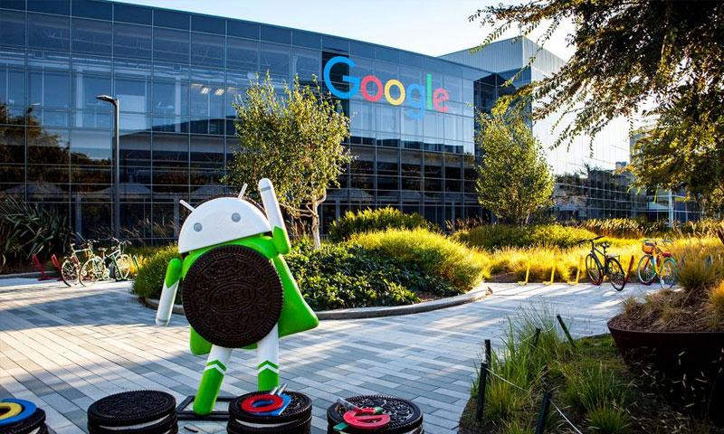 مقر شركة غوغل في ولاية كاليفورنيا الأمريكية (world atlas)