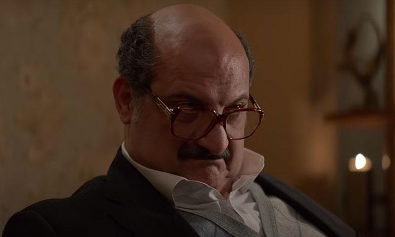 خالد الصاوي في لقطة من فيلم الضيف (الإعلان الرسمي على يوتيوب)