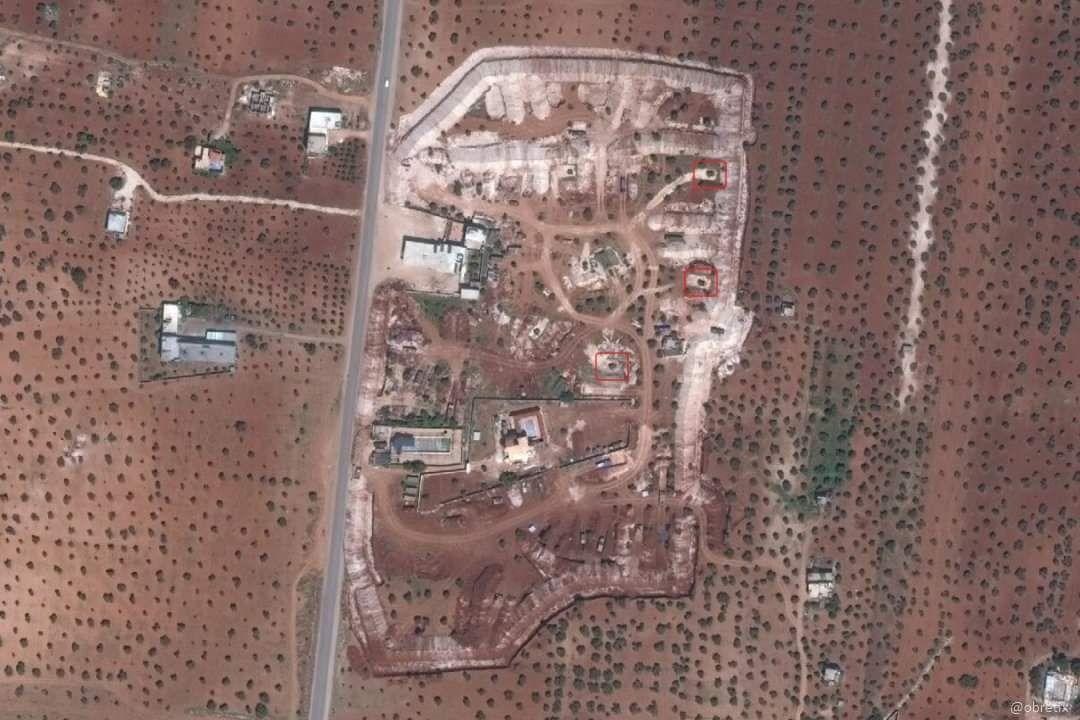 صور بالأقمار الصناعية لمكان تمركز منظومة هوك في مطار تفتناز