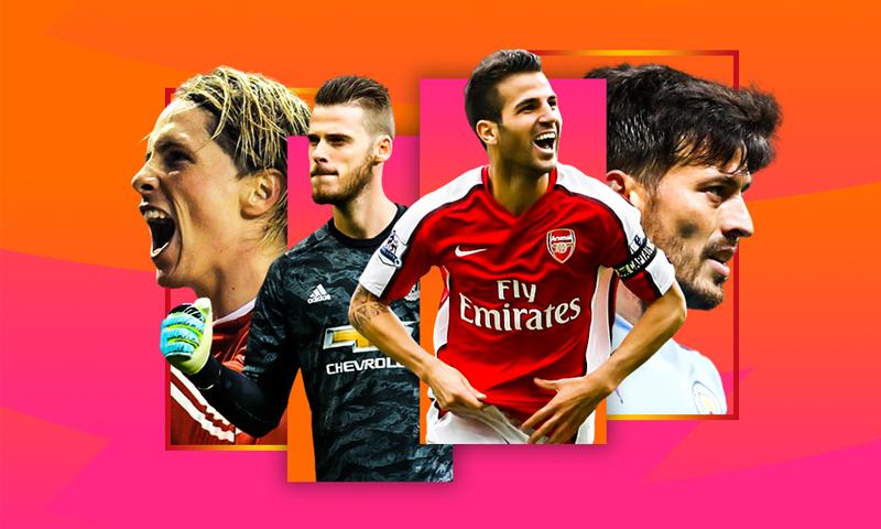 صور للنجوم الإسبان الذين يلعبون بالدوري الإنجليزي الممتاز- 30 من نيسان 2020 (PL)