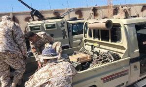 عناصر من قوات حكومة الوفاق الليبية (الأناضول)
