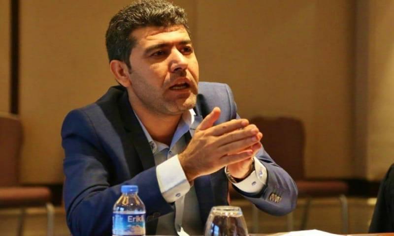 المعارض السوري الكردي وعضو الهيئة السياسية في الائتلاف الوطني السوري المعارض حواس عكيد