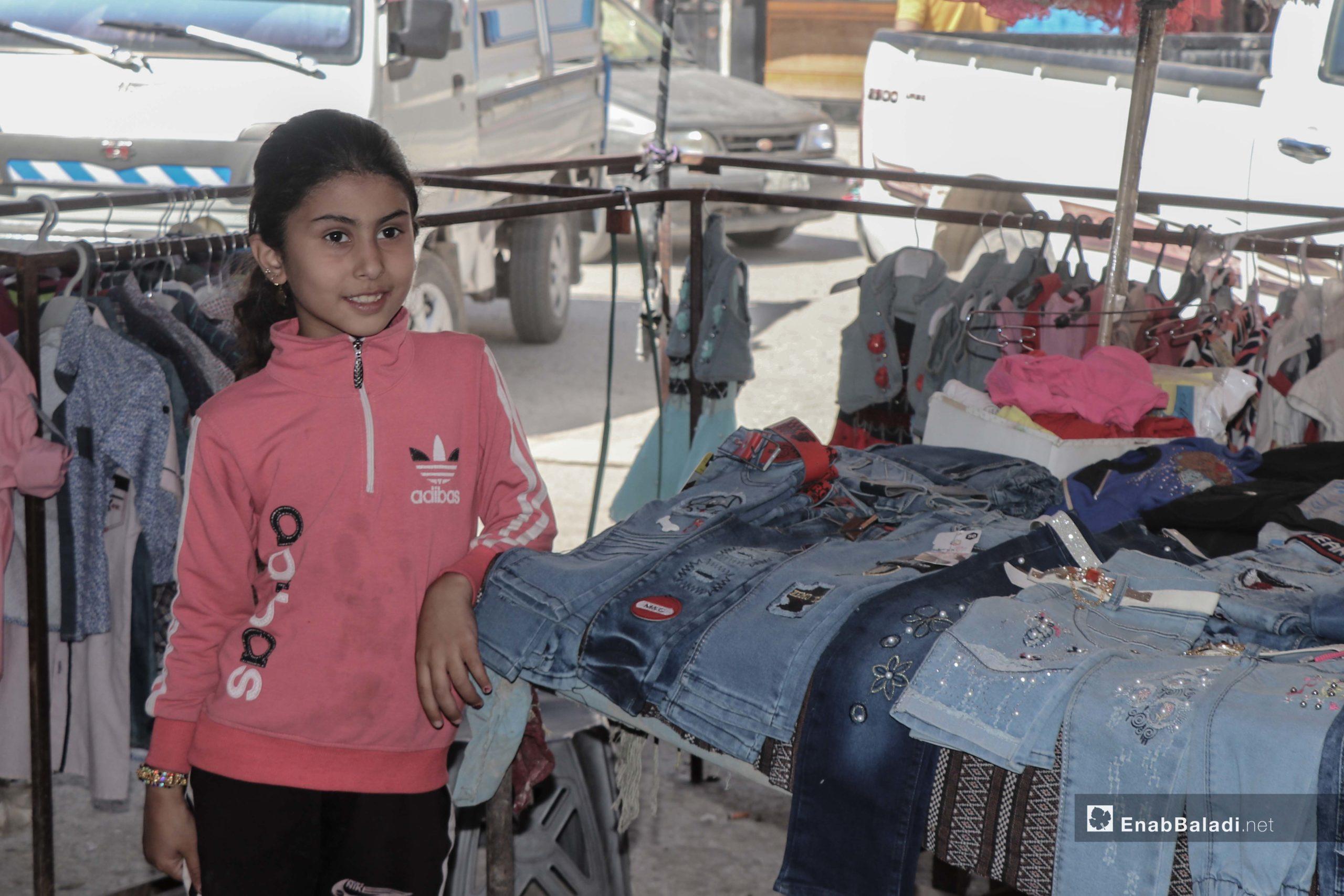 عمالة الأطفال في مدينة الرقة - 5 حزيران 2020 (عنب بلدي / عبدالعزيز الصالح)