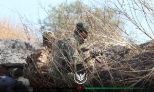 رباط عناصر الجبهة الوطنية للتحرير على جبهات ريف إدلب الجنوبي 16 حزيران 2020 (الجبهة الوطنية)