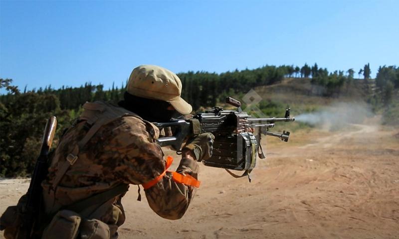 تدريبات لعناصر هيئة تحرير الشام في إدلب – 17 حزيران 2020 (إباء)