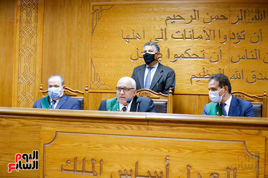 """جلسة محاكمة 16 متهمًا بالانتماء لـ """"جبهة النصرة"""" في مصر- 21 من حزيران (اليوم السابع)"""