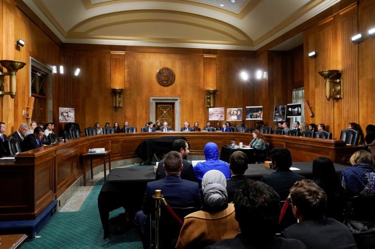قيصر يشهد أمام لجنة العلاقات الخارجية في مجلس النواب الأمريكي – 2014 (رويترز)