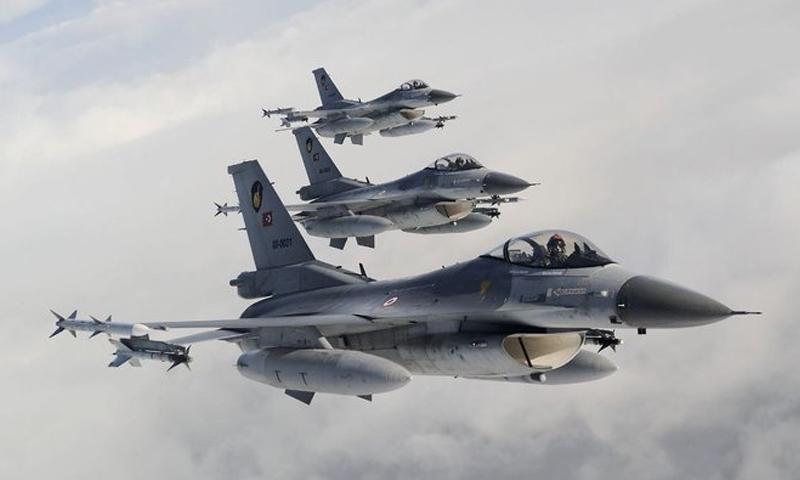 طائرات سلاح الجو التركي في الهواء- 14 كانون الأول 2018 (TSK)