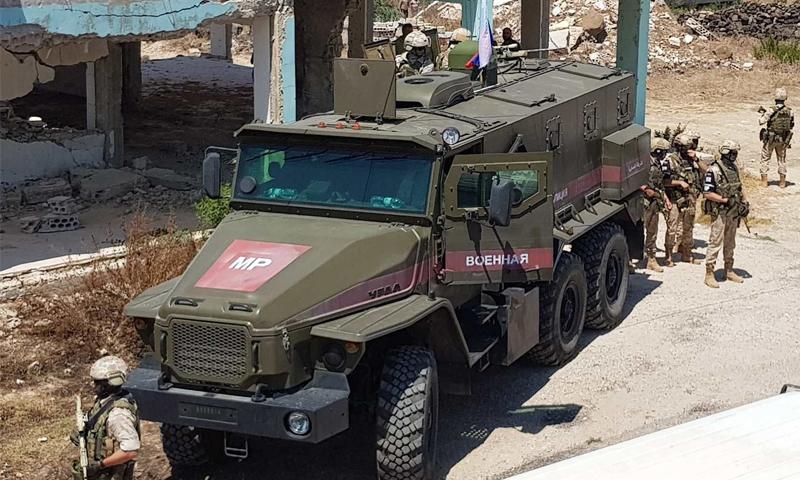 الشرطة العسكرية الروسية في محافظة درعا جنوبي سوريا - 2018 (Militarian)