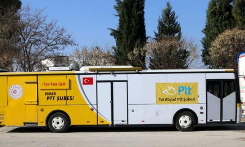 مركز PTT متنقل (تركيا بالعربي )