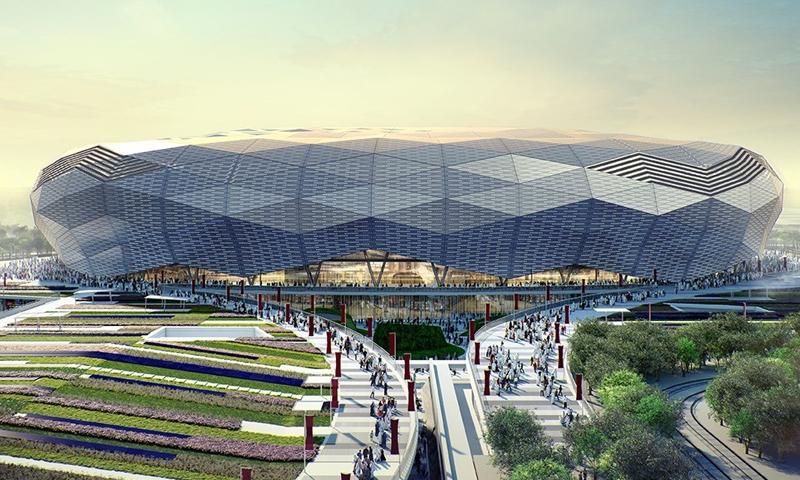 """استاد """"المدينة التعليمية"""" في قطر استعدادًا لكأس العالم 2022- 4 من أيار (qatar2022)"""