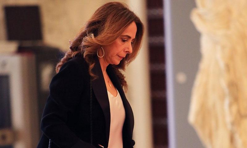 وزيرة الدفاع اللبنانية زينة عكر 27 من أيار 2020 (الأخبار اللبنانية)