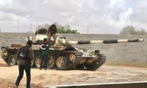 مقاتلون من حكومة الوفاق (الأناضول)