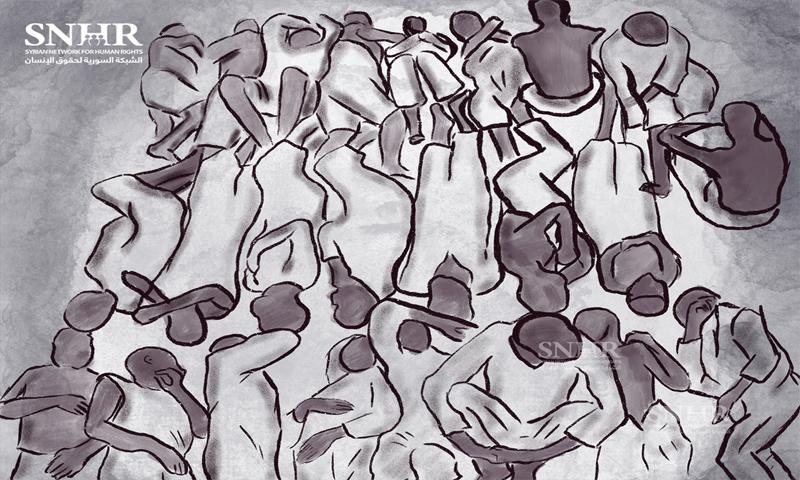 المعتقلون في السجون - الشبكة السورية لحقوق الإنسان (تعبيرية)