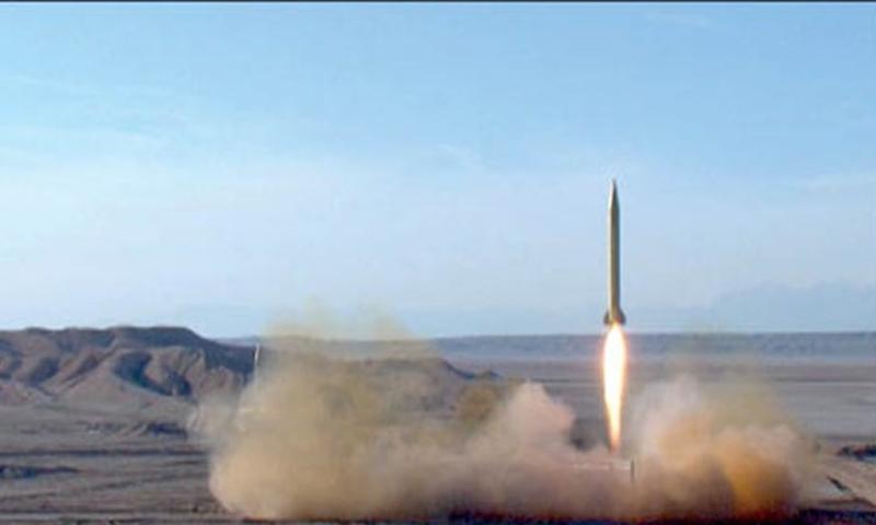 """صواريخ باليستية أطلقها """"الحرس الثوري الإيراني"""" ضمن مناورات """"الرسول الأعظم 14""""- 29 من تموز (فارس)"""
