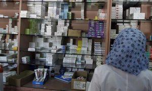 صيدلية في دمشق(فرانس برس)