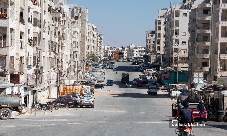 أحد أحياء مدينة إدلب - 14 تموز 2020 (عنب بلدي/أنس الخولي)