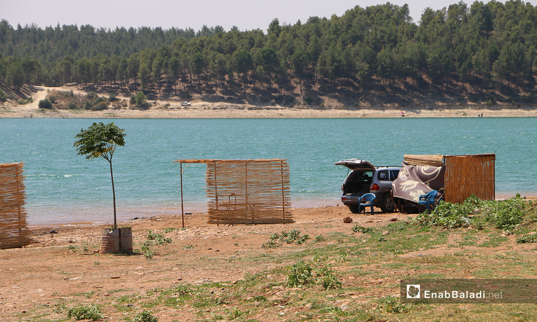 الجسر الروماني في عفرين شمالي سوريا - 21 تموز 2020 (عنب بلدي/عبد السلام مجعان)