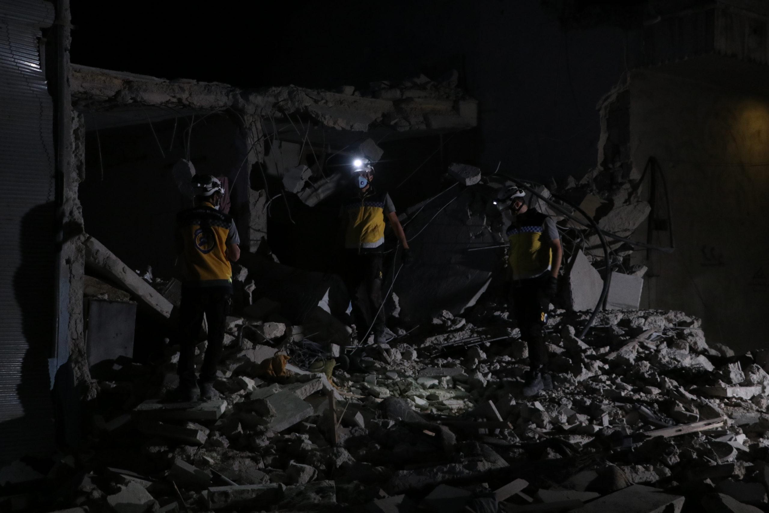 غارات على مدينة الباب، 15.07.2020 (عنب بلدي)