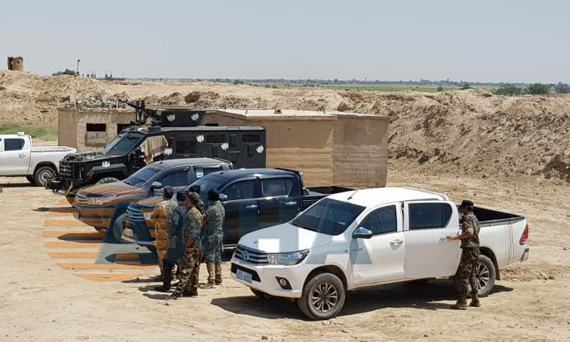 عناصر من قوات سوريا الديمقراطية (هاوار)