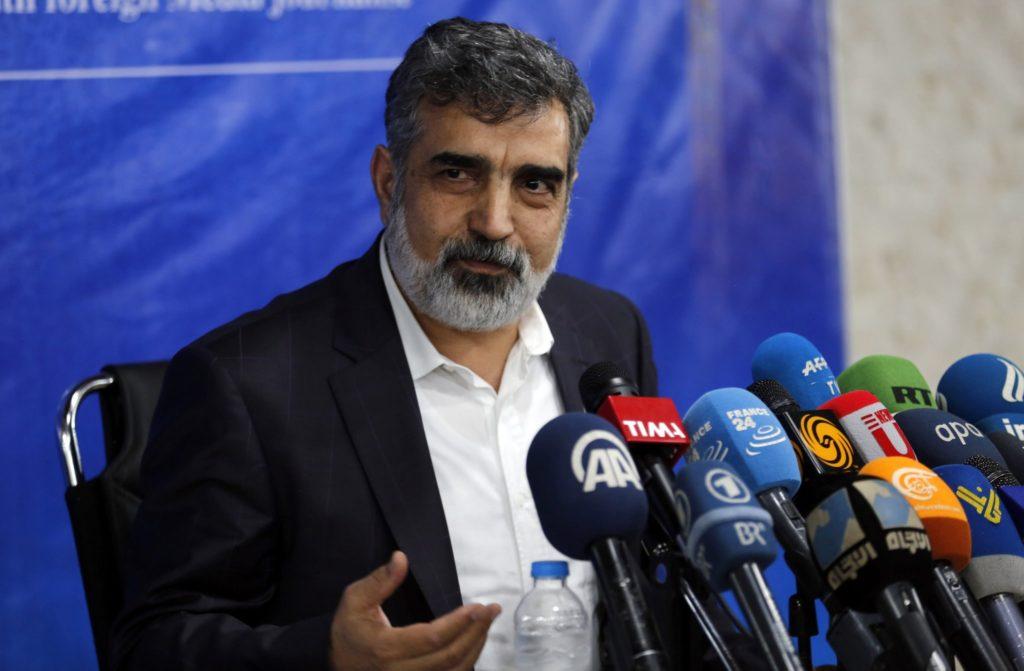المتحدث باسم منظمة الطاقة الذرية الإيرانية، بهروز كامالوندي- (EPA)