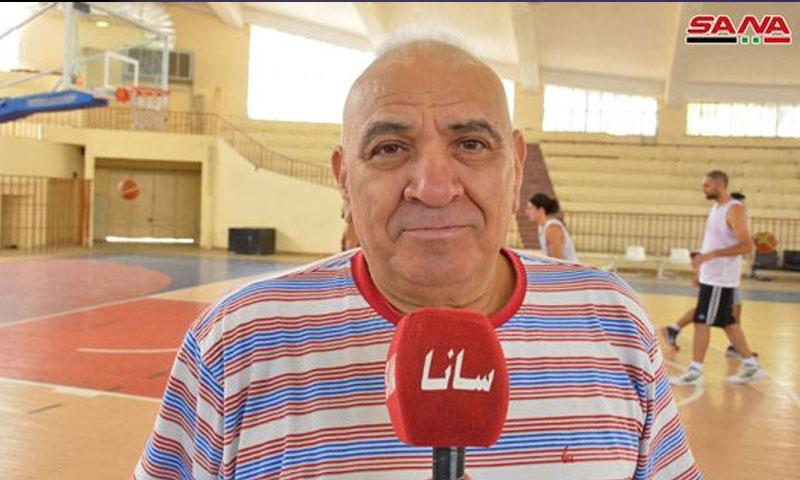 المدرب راتب الشيخ نجيب (سانا)