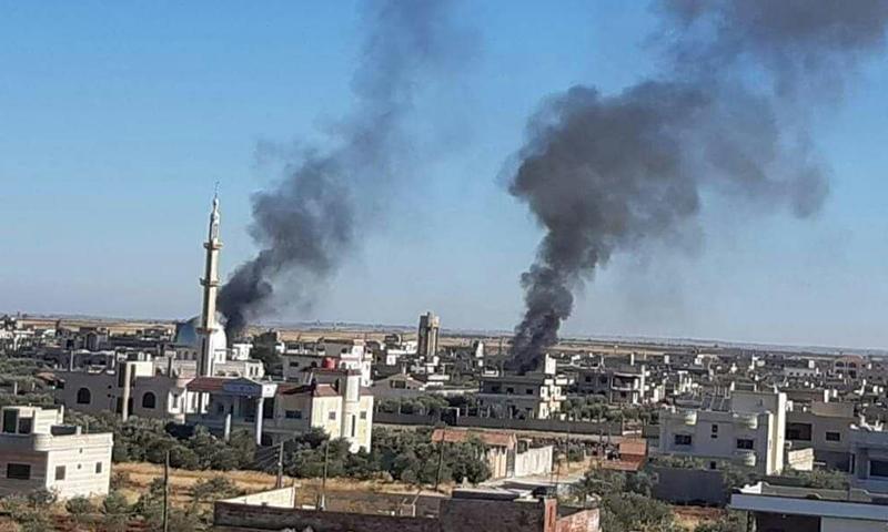 اشتباكات في بلدة أم ولد في محافظة درعا- 20 آب 2020 (صفحات محلية)