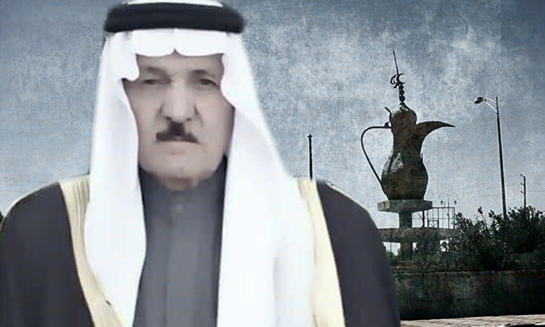 مطشر الهفل شيخ عشيرة العكيدات ( تعديل عنب بلدي )