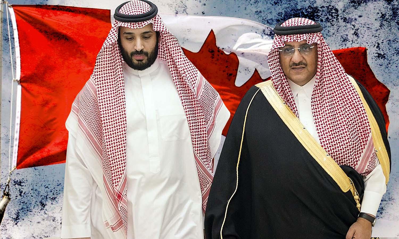 سعد الجابري وولي العهد محمد بن سلمان (تعديل عنب بلدي)