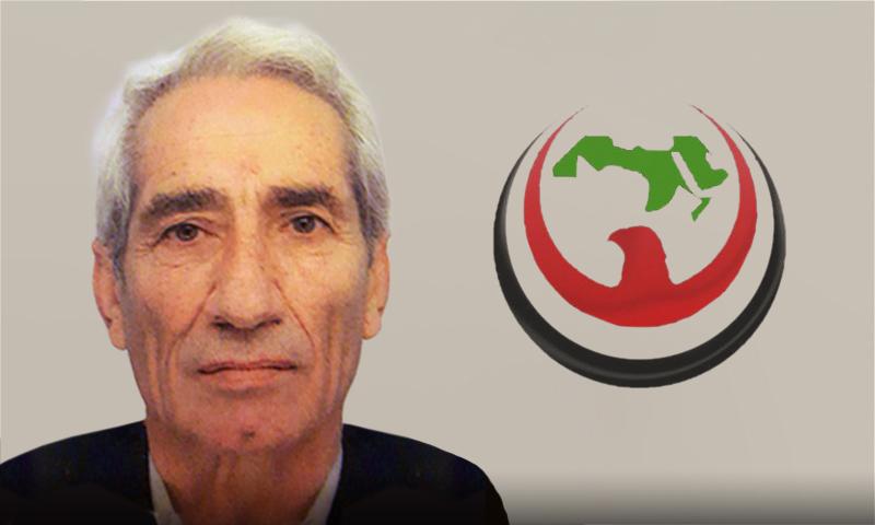محمد زكي هويدي الأمين العام المساعد لحزب الاتحاد الاشتراكي العربي الديمقراطي (تعديل عنب بلدي)