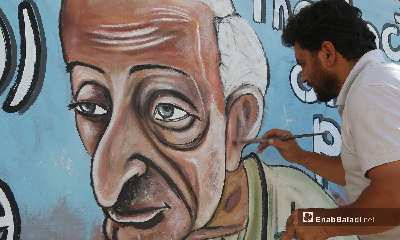 توفي الطبيب المصري عن عمر 76 عامًا والطبيبة السورية عن عمر 69 عامًا -2 آب 2020(عنب بلدي/يوسف غريبي)