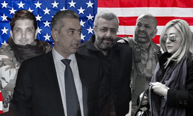 ضباط ومسؤولون سوريون فرضت عليهم واشنطن عقوبات اقتصادية - 20 آب 2020 (عنب بلدي)