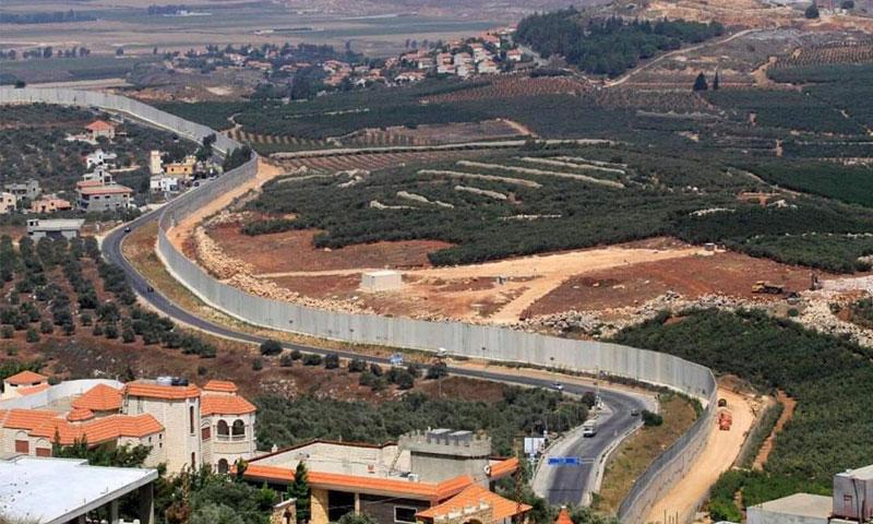 الحدود اللبنانية مع فلسطين المحتلة (الأهرام الدولي)