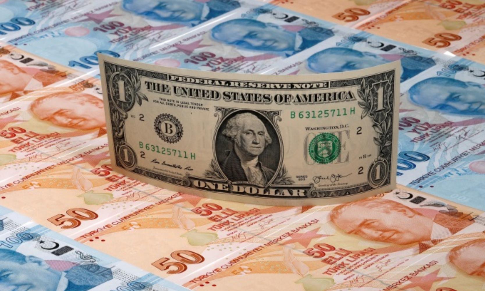 الدولار مقابل الليرة التركية (تعبيرية)